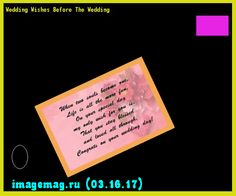 Wedding Wishes Before The Wedding 201506 - The Best Image Search
