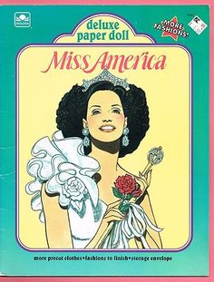 Miss America Paper Dolls... Totally used to have these!
