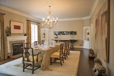 Dining room by Jon Jahr & Associates, Inc.