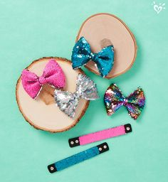 Bows and bracelets packed with personality.