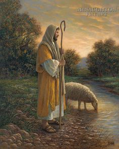 Finding the One by Jon McNaughton     Christ, Savior, sheep, lost sheep, love
