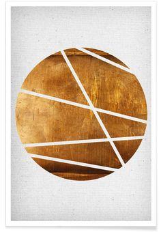 Circle als Premium poster door Froilein Juno | JUNIQE