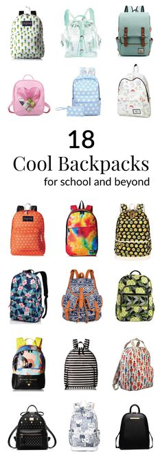 18 Stylish Backpacks for School and Beyond | Back to school, off to college