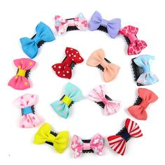 Alfie Pet by Petoga Couture - Cacey Bow Hair Clip 15-Piece Set for Dogs, Cats and Small Animals ** Continue to the product at the image link. (This is an affiliate link and I receive a commission for the sales)