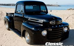 1949 Ford F1 Pickup Truck Front Right Side View