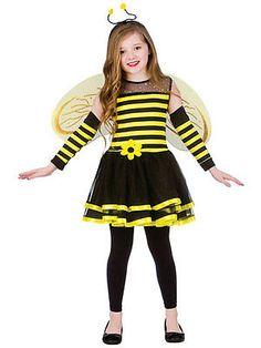Girls kids bugs bumblebee bee with #wings #headband halloween fancy #dress costum,  View more on the LINK: http://www.zeppy.io/product/gb/2/351368645007/