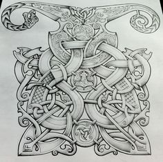 Viking style design by Tattoo-Design