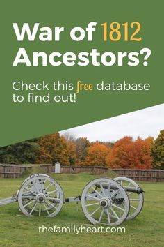 War of 1812 Ancestors? Check This Free Database - Heart of the Family Free Genealogy Sites, Genealogy Research, Family Genealogy, Family Tree Research, Old Family Photos, War Of 1812, Family History, Heart, Check