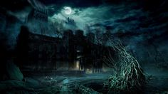 nice spooky house 7592 Check more at http://www.finewallpapers.eu/pin/24248/