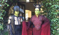 Jamie Lee Curtis Cosplayed At The 'Warcraft' Premiere