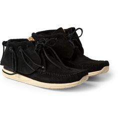 Visvim FBT Suede Sneakers