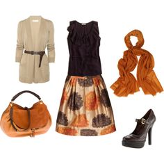 Love it!! My favorite colors....besides all shades of green of course!! :)  Untitled #24 - Polyvore