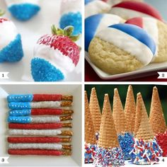All four of these pretty treats have something in common: they're all made by dipping store-bought food into icing. So, you could easily make ALL of these with little more fuss than making just one of - Click image to find more holidays & events Pinterest pins