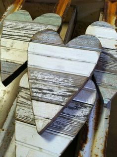 Wooden heart / hart van steigerhout