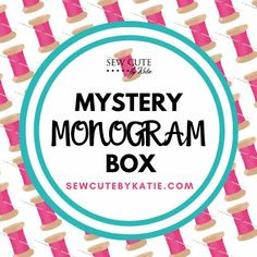 Mystery Monogram Box Subscription Monogram Box, Monogram Gifts, Personalized Gifts, Lace Boy Shorts, School Spirit Wear, Pet Stockings, Embroidered Gifts, Subscription Boxes, Monthly Subscription
