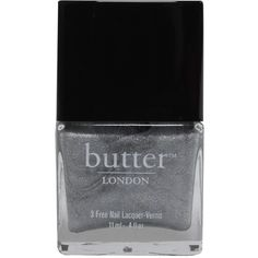 Butter London Dodgy Barnett Nail Lacquer ($17) ❤ liked on Polyvore