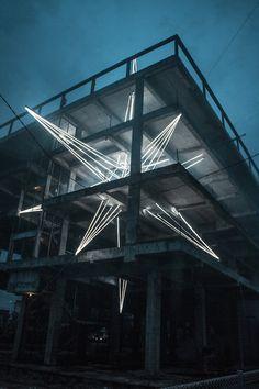 Massive LED Star Lights Up Malaysia | The Creators Project