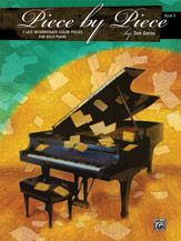 """Piece by Piece, Book 3: 7 Late Intermediate Color Pieces for Solo Piano; Tom Gerou (Alfred) 