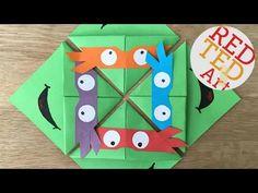 Easy Teenage Mutant Ninja Turtle TMNT BOOKMARK CORNERS Red Ted Art on YouTube