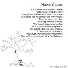 Never Glade | Wednesday Expressions on Patreon Poem Illustrated & Written by Nina LT   Online Store at society6.com/wednesday_expressions Please check it out and leave a like on what you love!  Got an idea that you would like to see illustrated, or a drawing of mine you want on my store? Please leave a comment below . . . . . . . #wednesdayexpressions #society6 #patreon #prints #poetry #illustrator  #onlineshop #shoponline #shop #store #illustration #art #handmade #ink #quotes #qotd #potd…