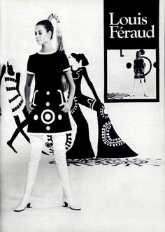 Louis Féraud L'Officiel magazine 1969