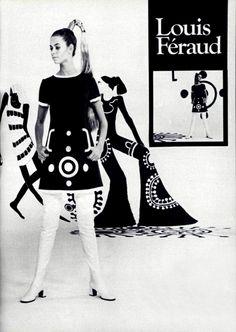Louis Féraud L'Officiel magazine 1969
