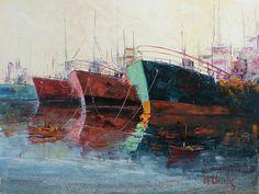 πινακεσ με ναυτικο - Αναζήτηση Google Sailing, Places To Visit, Paintings, Google, Decor, Art, Candle, Art Background, Decoration