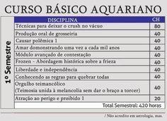 Curso básico -Aquário