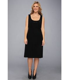 Karen Kane Plus Plus Size Sleeveless Embellished Dress