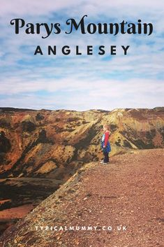 Parys Mountain near Amlwch on Anglesey, – the site of an old copper mine and a truly magnificent place with its barren landscape and amazing views. Anglesey Wales, Visit Wales, Family Days Out, Snowdonia, Cymru, North Wales, Holidays With Kids, Places Of Interest, Holiday Destinations