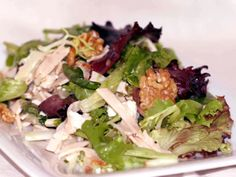Smoked Turkey Salad with Goat Cheese and Walnuts from FoodNetwork.com