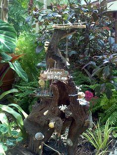 Powell Gardens Fairy Forts & Fairy Houses