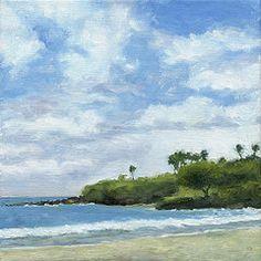 Hawaii Art - Hapuna Beach by Stacy Vosberg