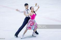 News Photo : Rikako Fukase and Aru Tateno of Japan compete...
