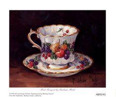 Fruit Teacup Barbara Mock