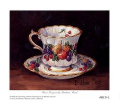 Fruit Teacup Barbara Mock
