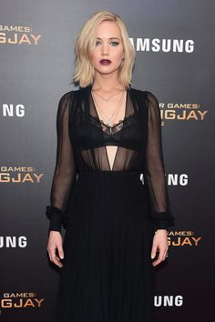 You Won't Believe What Jennifer Lawrence Did During Her Latest Red Carpet Appearance: It's been a busy month for Jennifer Lawrence, Liam Hemsworth, and Josh Hutcherson!