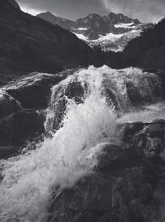 Ansel Adams (Waterfall, Northern Cascades, Washington, Photograph by Ansel Adams; Collection Center for Creative Photography, The University of Arizona; The Ansel Adams Publishing Rights Trust) Ansel Adams Photography, White Photography, Nature Photography, Photography Flowers, Photography Projects, Flash Photography, Inspiring Photography, Underwater Photography, Photography Tutorials