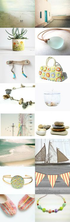 the beach called....... by Maureen on Etsy--Pinned with TreasuryPin.com