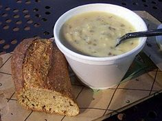 Panera Bread Restaurant Copycat Recipes: Creamy Chicken and Wild Rice Soup