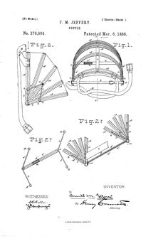 1888 Bustle Patent US378964 - BUSTLE - Google Patents