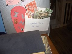 Canadian Tire money collections for Corin Raymond. Don't Spend It Honey!!