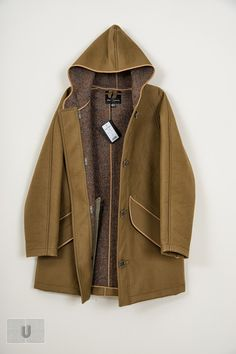 Nigel Cabourn Bench Coat in army green