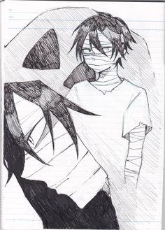 君が笑うまで Angels of Slaughter Fanart Zack Cartoon Sketches, Drawing Sketches, Death Aesthetic, Mad Father, Angel Drawing, Rpg Horror Games, Satsuriku No Tenshi, Angel Of Death, Anime Angel
