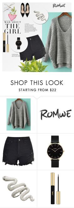 """magic"" by alejna-i ❤ liked on Polyvore featuring CLUSE, Kershaw and Yves Saint Laurent"