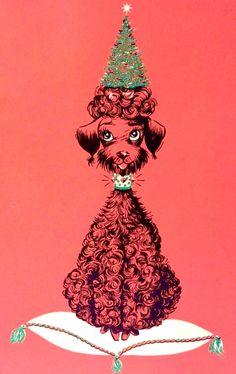 Vintage Christmas Images, Retro Christmas, Christmas Cats, Paris Christmas, Christmas Girls, Christmas Print, Christmas Items, Vintage Greeting Cards, Christmas Greeting Cards