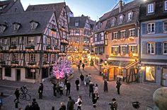 Marché de Noël, Colmar, Alsace, France