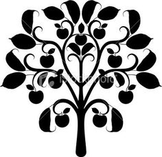 apple tree branch drawing - Bing Images | Family Tree | Pinterest ...