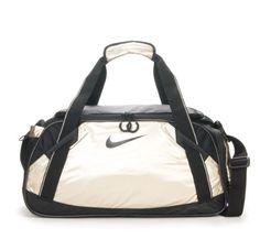Best Price Nike Women Girl Gym Duffle Bag Gold SALE