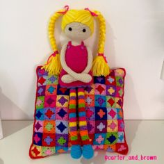 I just loved making this doll. Great pattern by Annaboos House. Astrid doll.